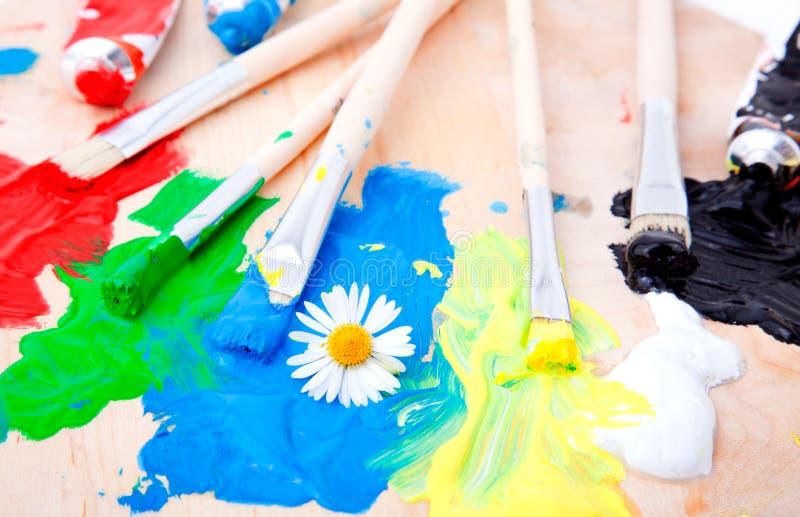 Pintura del color foto de archivo libre de regalías