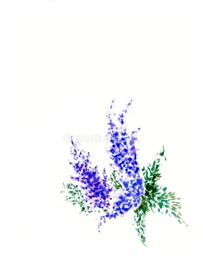 Pintura del color de agua imagenes de archivo