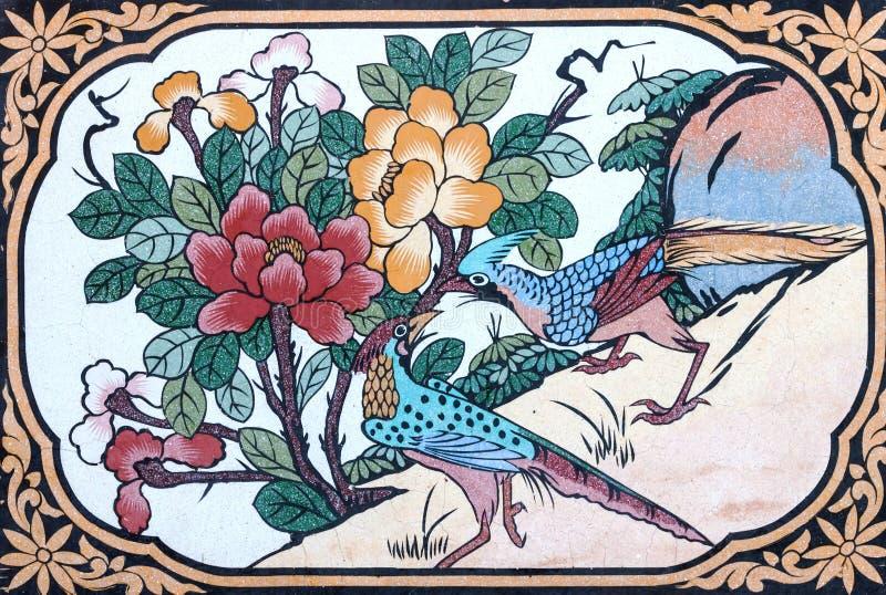 Pintura del pájaro foto de archivo libre de regalías