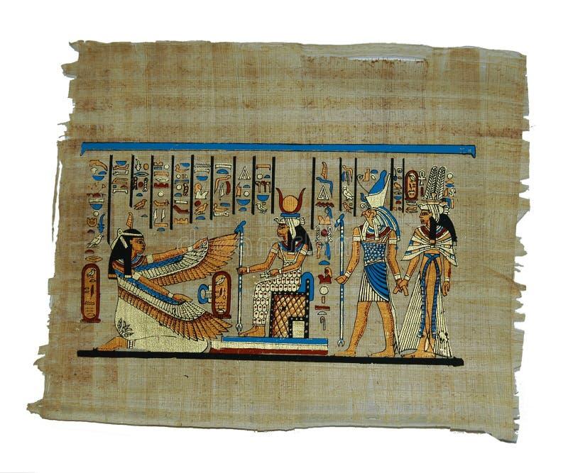 Download Pintura del papiro foto de archivo. Imagen de fondos, material - 25474