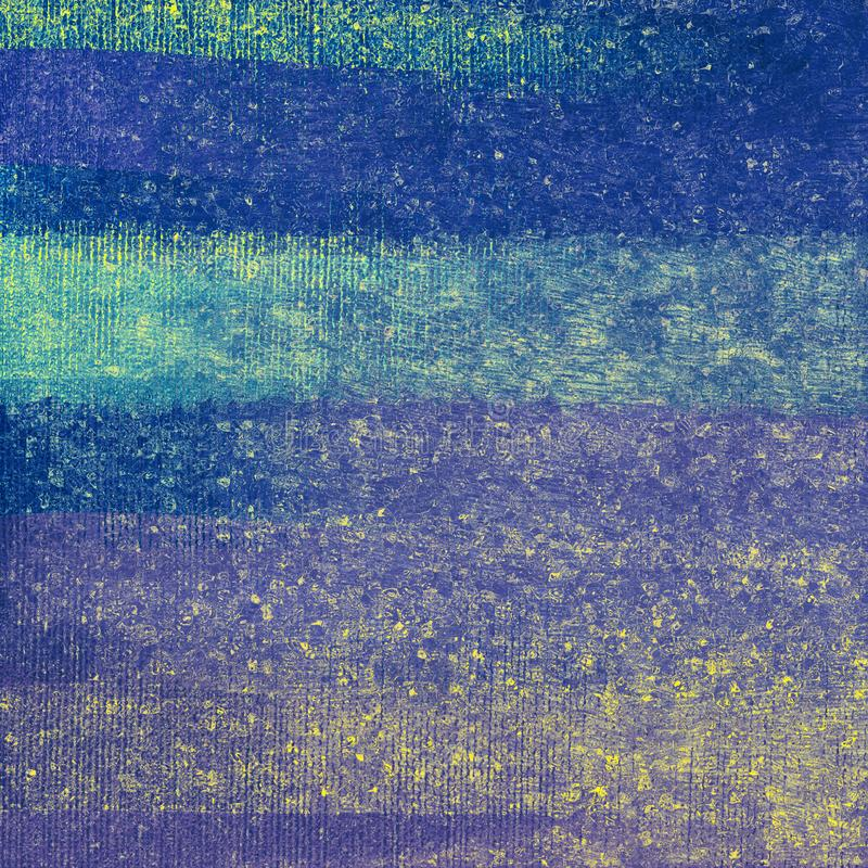 Pintura dibujada mano Fondo abstracto de los movimientos del cepillo del vintage El tema de la caída pintó las ilustraciones supe stock de ilustración