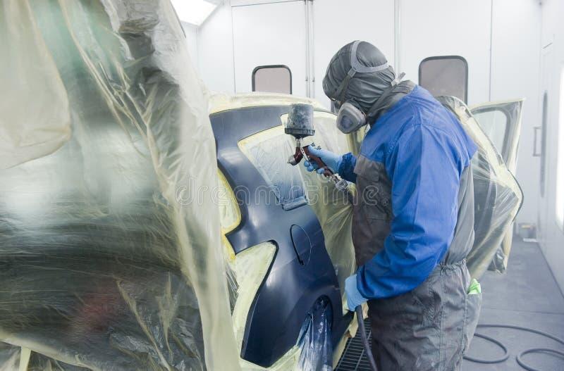 Pintura do carro fotos de stock royalty free