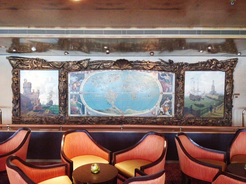 pintura do cruzeiro imagens de stock royalty free