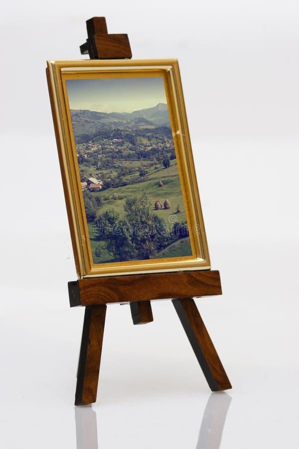 pintura en la base imagenes de archivo