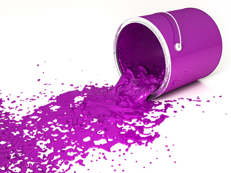 Pintura magenta libre illustration