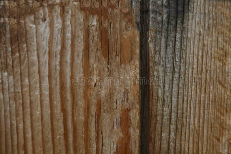 Pintura marrón escamosa en la vieja superficie de madera del tablero imagen de archivo