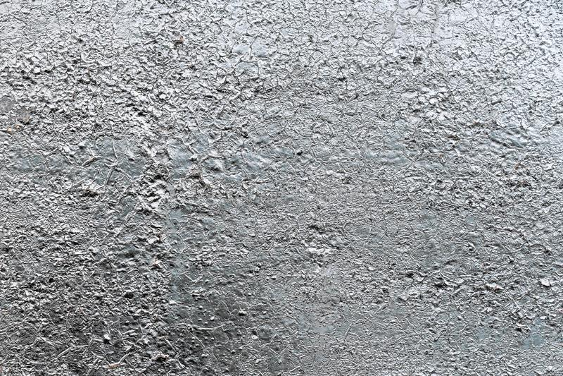 Pintura metálica de prata no fundo de aço da textura imagem de stock