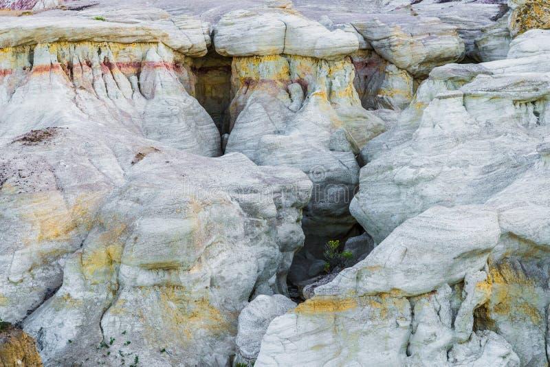 A pintura mina o parque interpretativo Colorado Springs Calhan imagens de stock royalty free