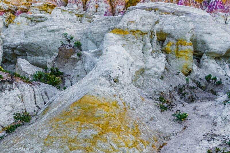 A pintura mina o parque interpretativo Colorado Springs Calhan imagem de stock