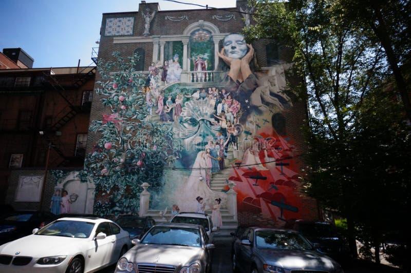 Pintura mural fotografia de stock royalty free