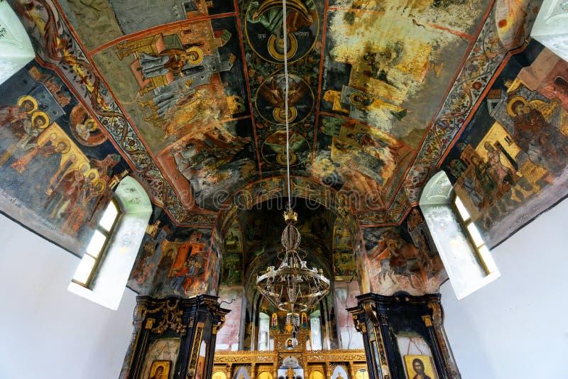 Pintura mural ortodoxo imagem de stock royalty free