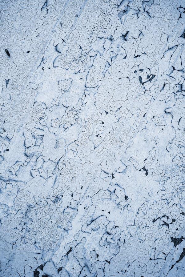Pintura pealing branca, textura imagem de stock royalty free