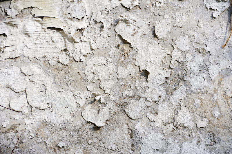 Pintura Pealing - pared imagen de archivo