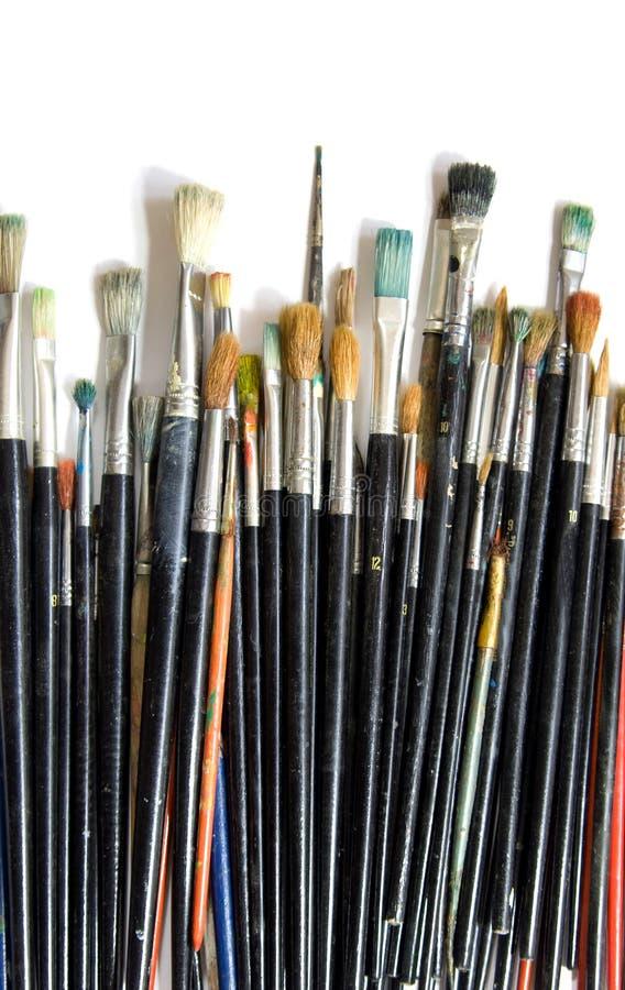 Pintura, pintando imagen de archivo libre de regalías