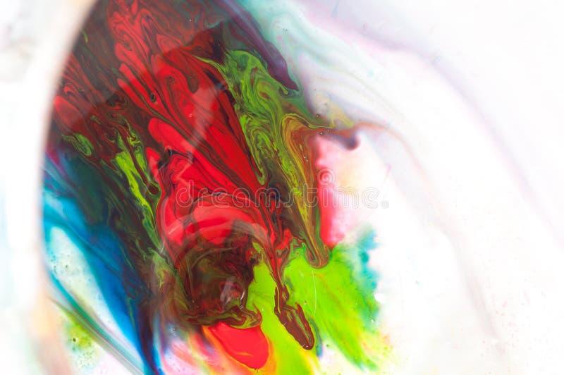 Pintura que fluye foto de archivo