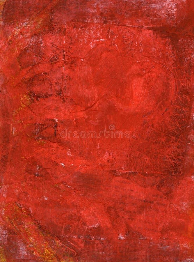 Pintura roja fotos de archivo