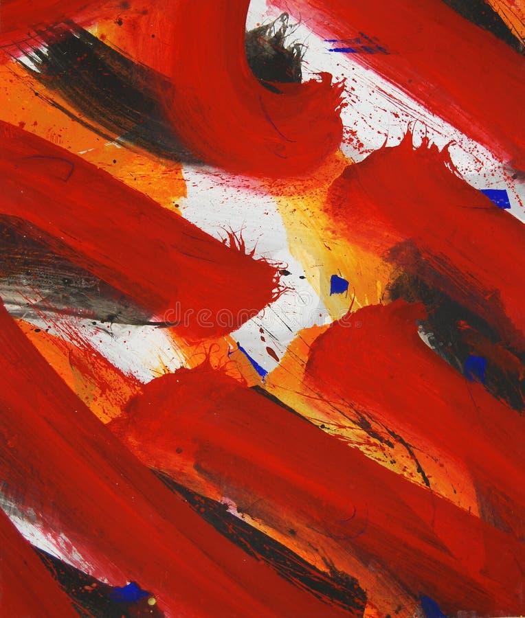 Pintura roja imagenes de archivo