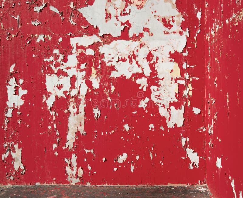 Download Pintura Roja Pelada Fondo En La Pared Imagen de archivo - Imagen de blanco, malo: 41910885