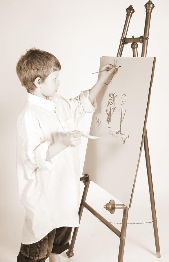 Pintura seria fotos de archivo libres de regalías