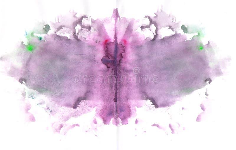 Pintura Splat de la mariposa libre illustration