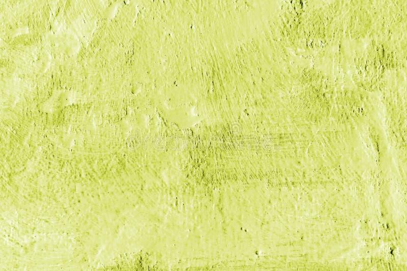 Pintura verde clara Fondo decorativo pintado extracto de la pared fotografía de archivo