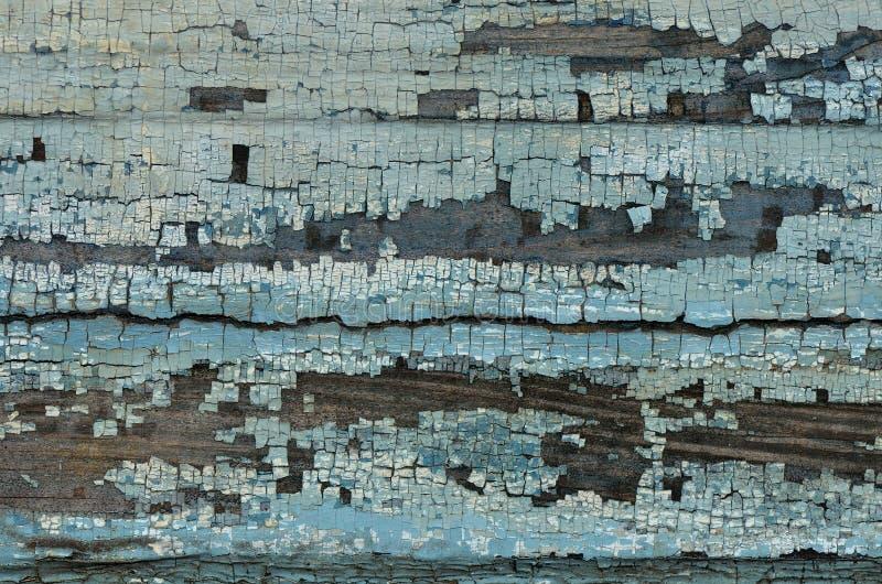 Pintura vieja en la madera fotografía de archivo libre de regalías