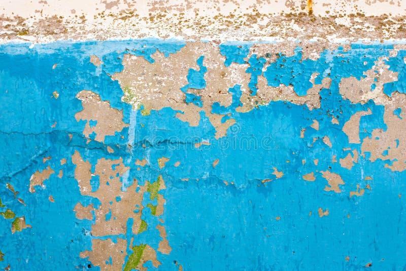 Pintura vieja en la pared fotos de archivo libres de regalías