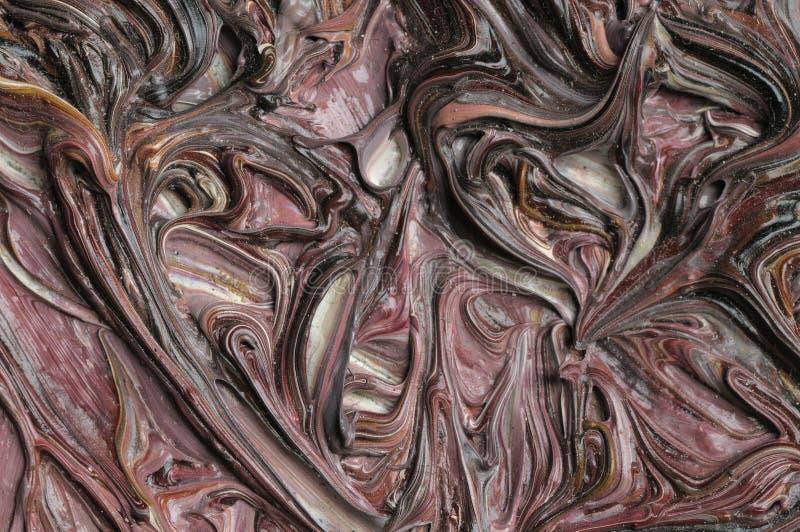 Pinturas al óleo. Textura. foto de archivo