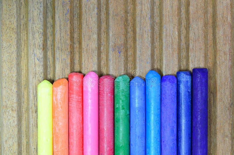 Pinturas coloreadas imagen de archivo