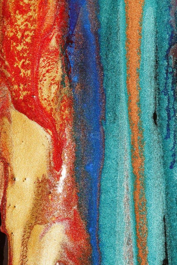 Pinturas coloridas imagem de stock royalty free