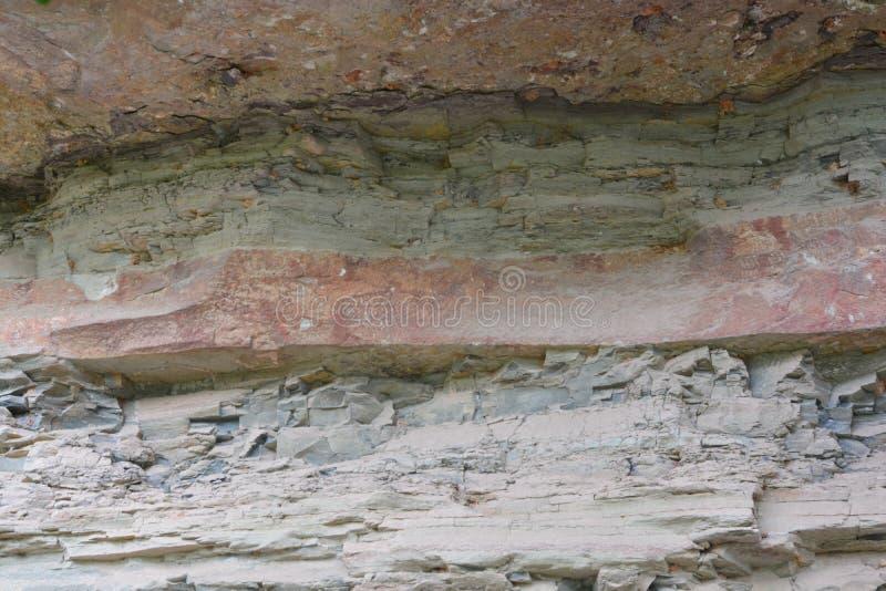 Pinturas de 3.000 años del acantilado imagen de archivo libre de regalías