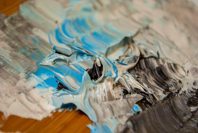 Pinturas de aceite imagen de archivo libre de regalías
