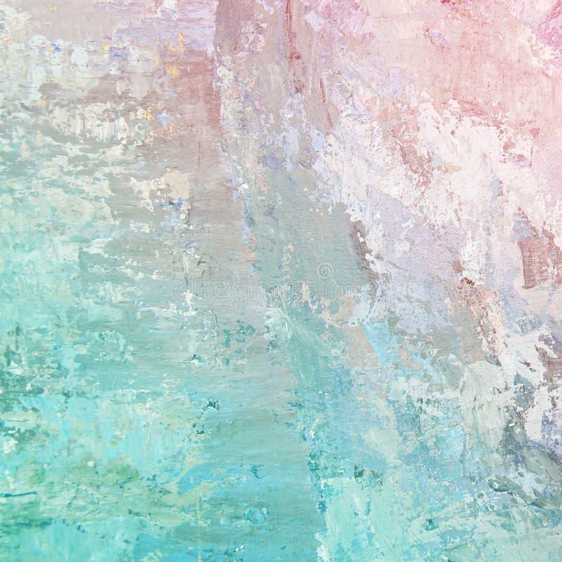 Pinturas de aceite en colores pastel del fondo imagen de archivo libre de regalías