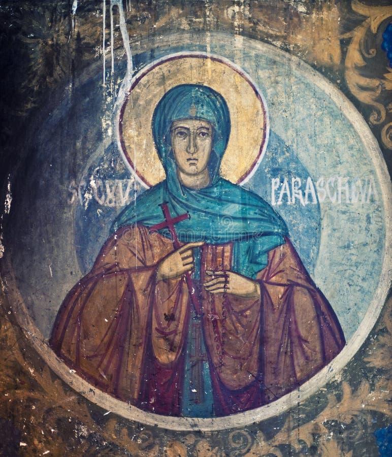 Pinturas de la iglesia imágenes de archivo libres de regalías