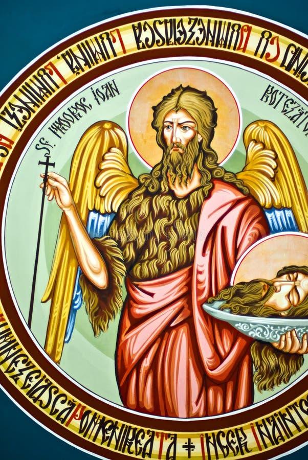 Pinturas de la iglesia ilustración del vector