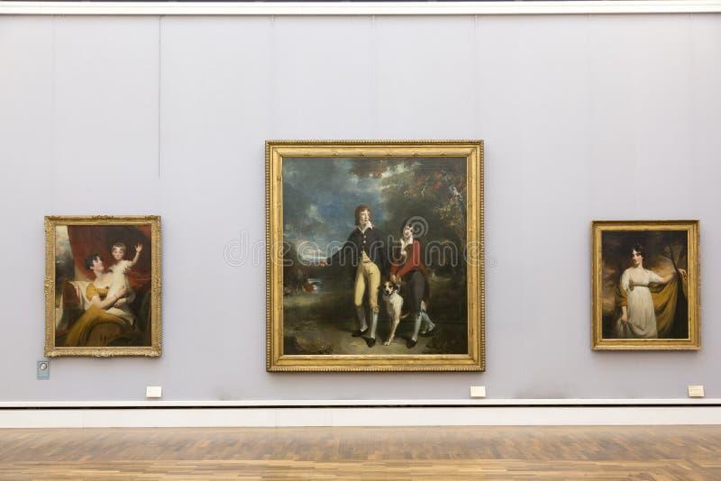 Pinturas de Thomas Lawrence em Neu Pinakothek em Munich foto de stock royalty free