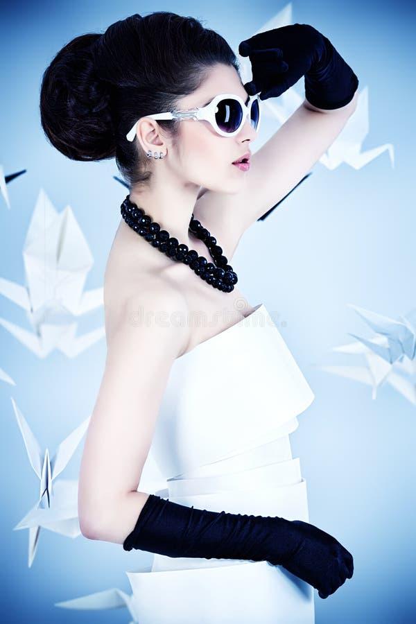 Pinup fashion royalty free stock image