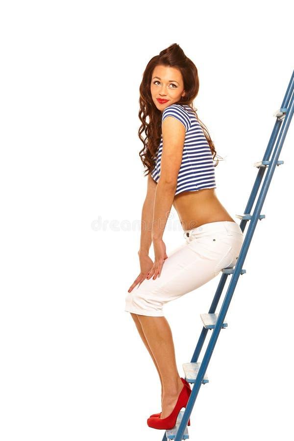 Download Pinup girl stock photo. Image of charming, flirty, careless - 32845226