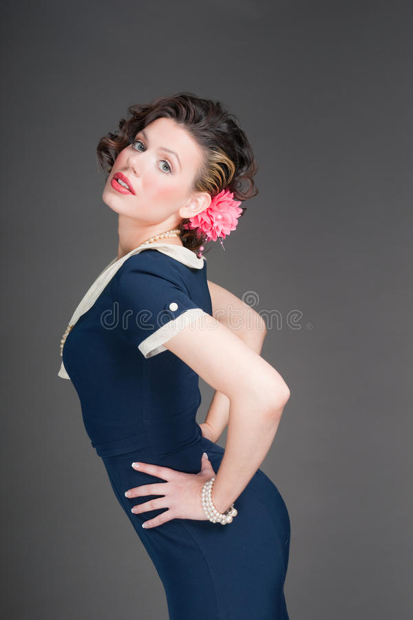 Free Pinup Sailor Girl Royalty Free Stock Images - 14255819