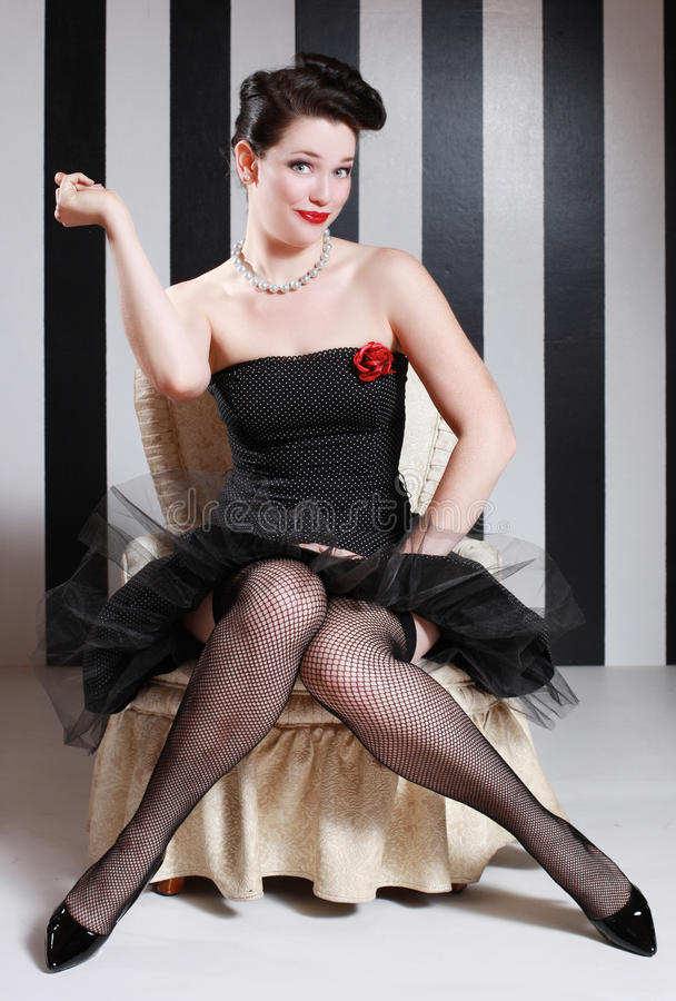 Download Pinup Style Vintage Image Stock Photography - Image: 24097392