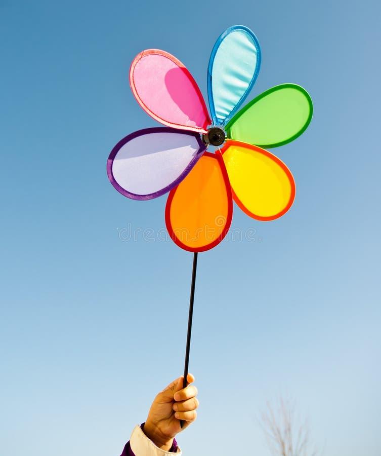 pinwheel ανεμόμυλος στοκ φωτογραφία με δικαίωμα ελεύθερης χρήσης