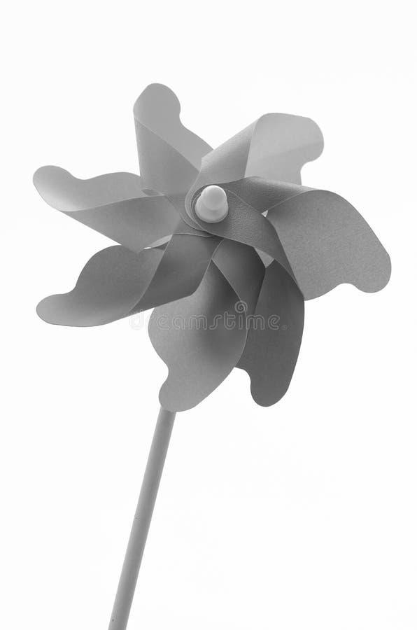 Pinwheel в черно-белом стоковое фото rf