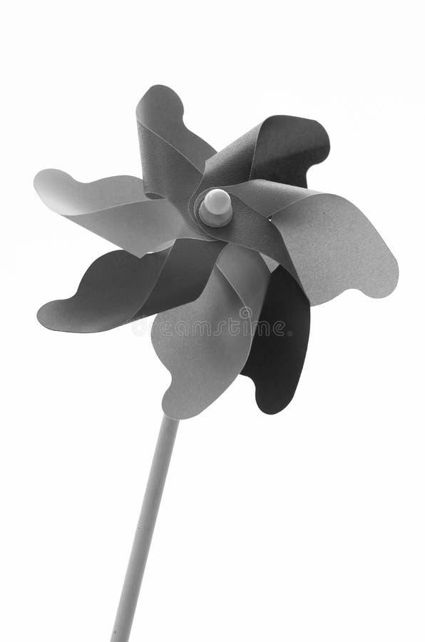 Pinwheel в черно-белом стоковое изображение