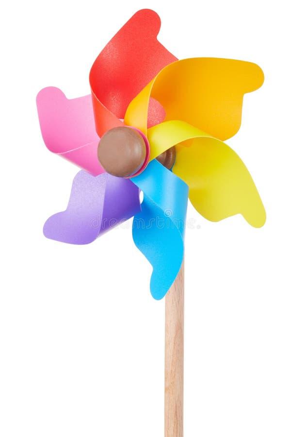 Pinwheel, красочная игрушка стоковое фото rf