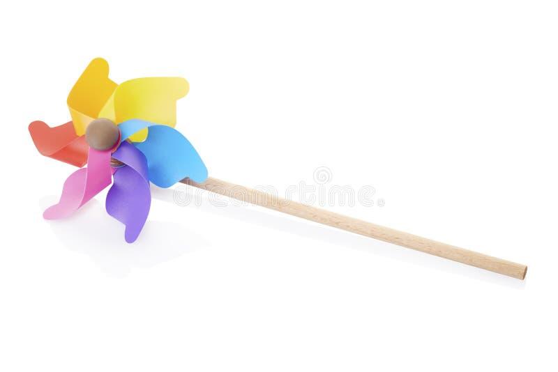 Pinwheel, красочная игрушка стоковые фото