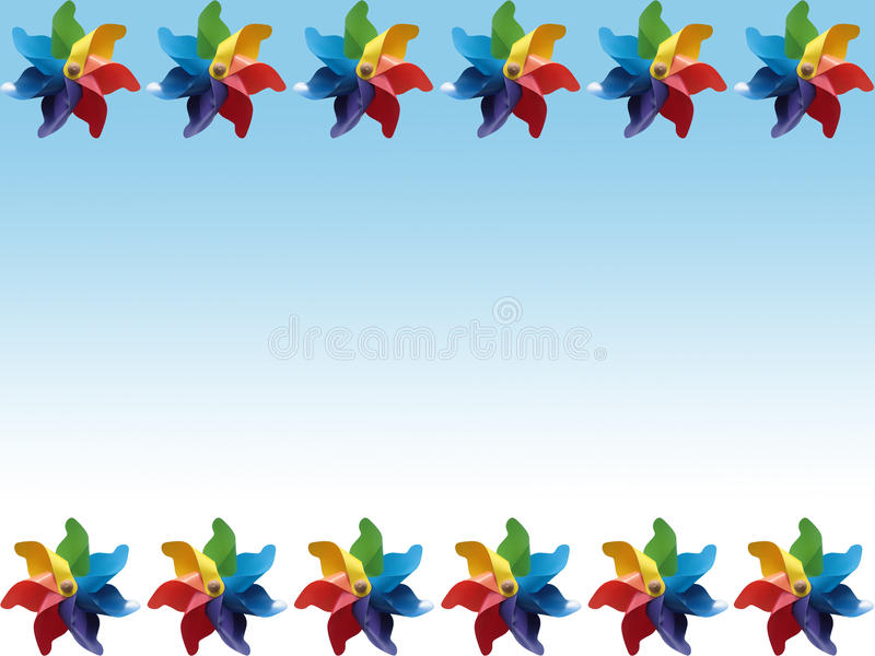 pinwheel предпосылки стоковые фотографии rf