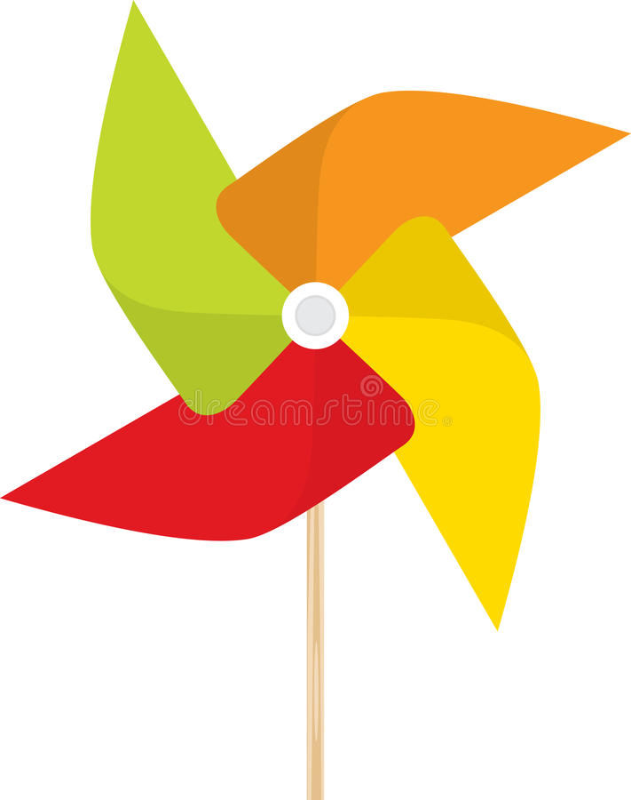 pinwheel ilustracja wektor