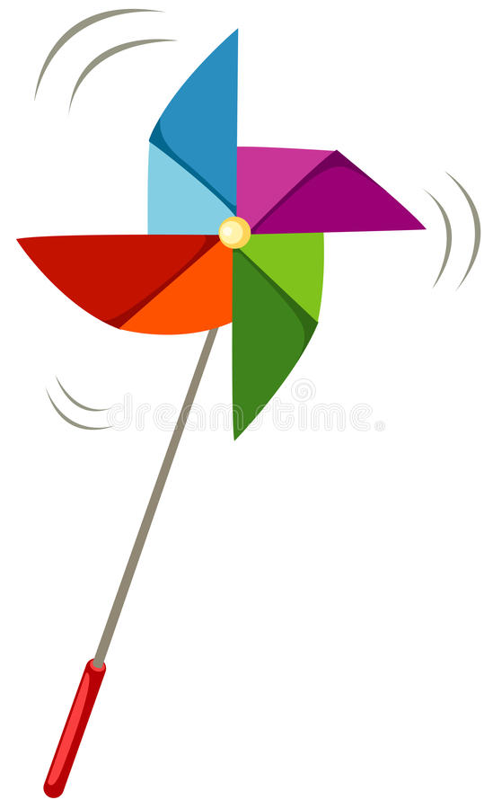 Pinwheel stock illustration