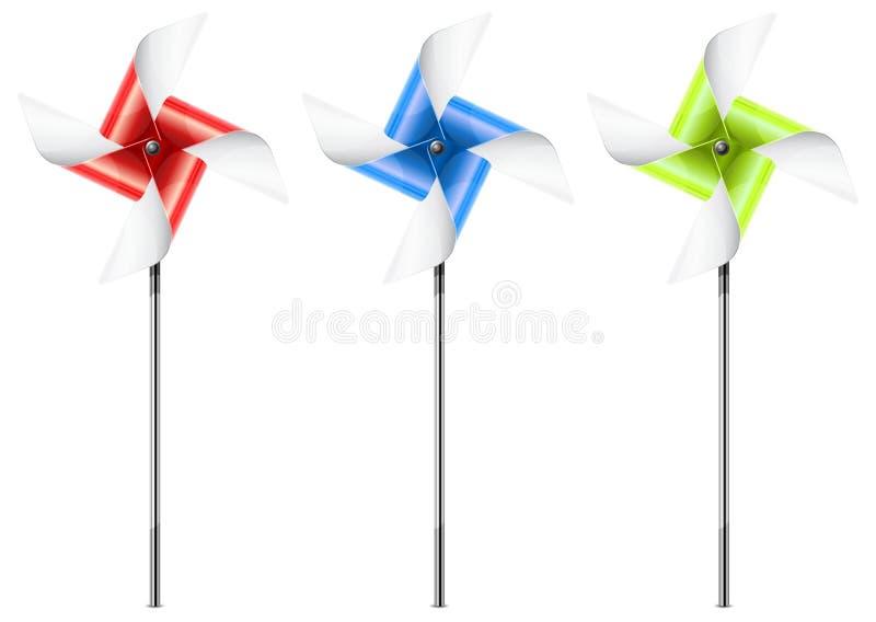 pinwheel royalty ilustracja