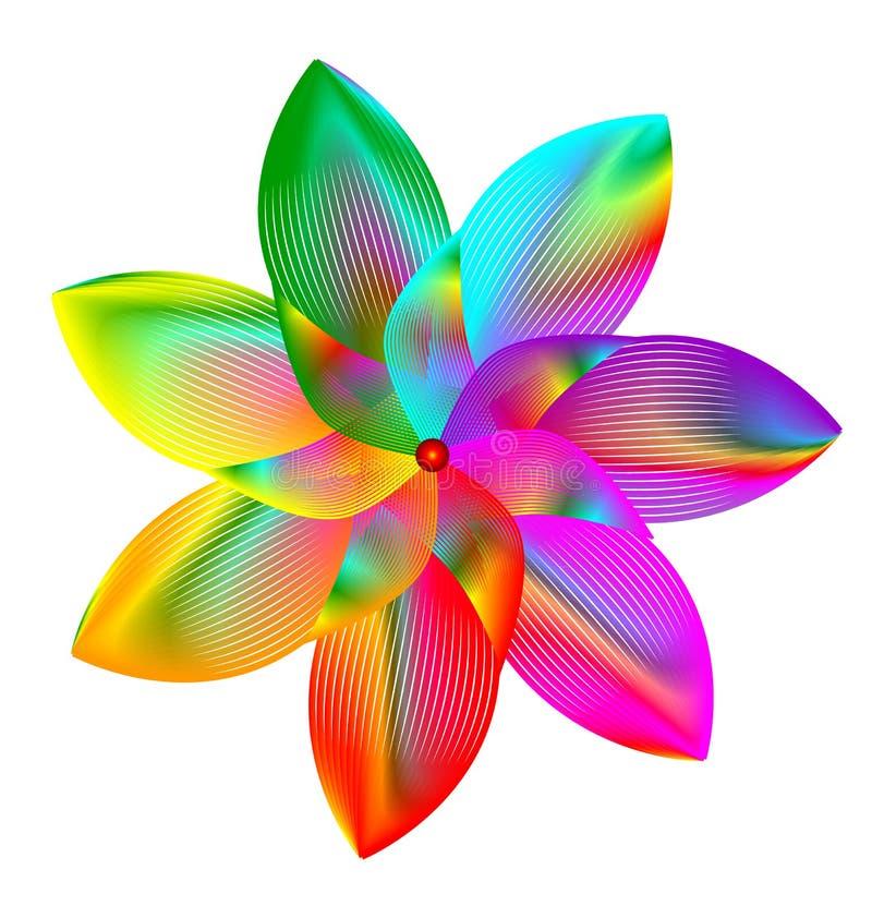 pinwheel απεικόνιση αποθεμάτων